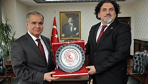 KAMBER'DEN VALİ TAPSIZ'A ZİYARET