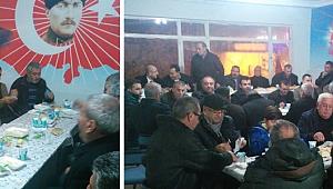 KARAMAN'DA MHP'DEN BİRLİK VE DAYANIŞMA YEMEĞİ