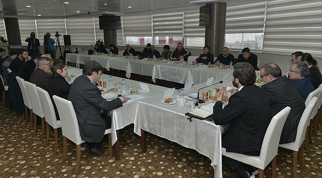 KARAMAN MEDYASI, KMÜ'NİN 'BASIN ÇALIŞTAYINDA' BİRARAYA GELDİ