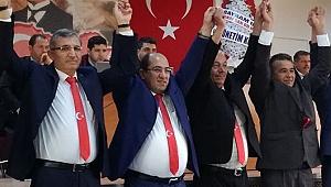 CEMALETTİN ÖZUYLASİ VE EKİBİ ŞOFÖRLER ODASINI KAZANDI