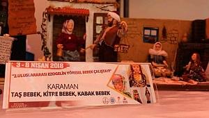 KİTRE BEBEK SANATÇISI F.S. KIZIL GAZİANTEP'TE KARAMAN'I TEMSİL ATTİ