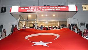 ÖĞRENCİLERDEN İSRAİL'E TEPKİ FİLİSTİNLİLER'E DESTEK
