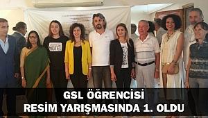 GSL ÖĞRENCİSİ RESİM YARIŞMASINDA 1. OLDU