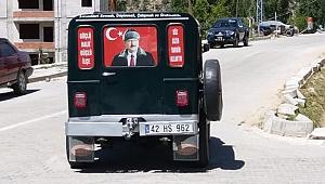 BAŞKAN SAMUR'UN 1952 MODEL CİP'İ
