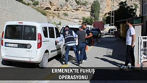 ERMENEK'TE FUHUŞ OPERASYONU