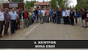 3. KENTFOR SONA ERDİ