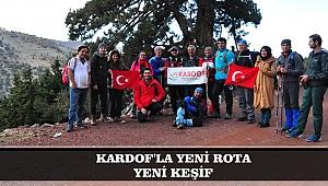 KARDOF'LA YENİ ROTA YENİ KEŞİF