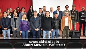 STEM EĞİTİMİ İÇİN ÖĞRETMENLER AVRUPA'DA