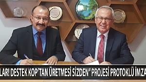 ARICILAR DESTEK KOP'TAN ÜRETMESİ SİZDEN PROJESİ PROTOKLÜ İMZALANDI