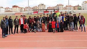 Gençler puanlı atletizm yarışları sona erdi