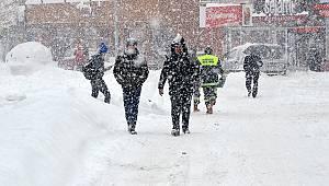 Karaman'a yağmur ve kar uyarısı