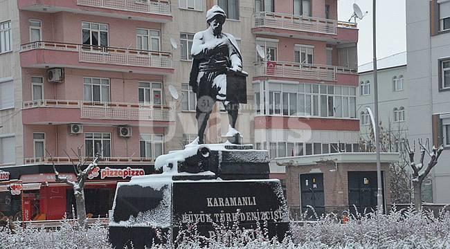 Karaman'da kar yağışı bekleniyor