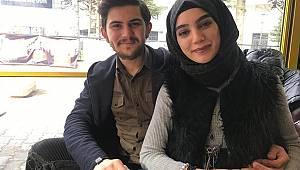 Karaman'da sürpriz evlenme teklifi