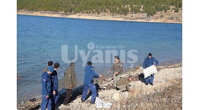 Karaman'da Yaban Hayvanlarına Yem Bırakıldı