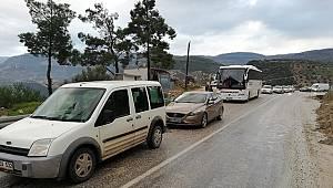 Karaman Mersin Yolu Trafiğe Kapandı