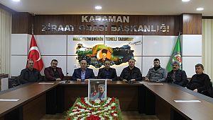 Karaman Ziraat Odası Başkanı Mehmet Bayram Oldu