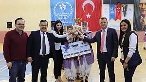 Okullar Arası Halk Oyunları Yarışmaları yapıldı