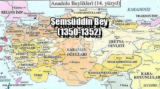 Şemsüddin Bey (1350-1352)