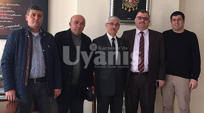 Tarım Kredi Kooperatifinden Başkan Kapar'a Ziyaret