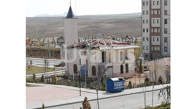 Camiye ilk kazma vuruldu