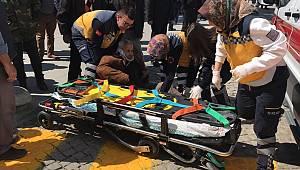 İsmet Paşa Caddesinde Kaza