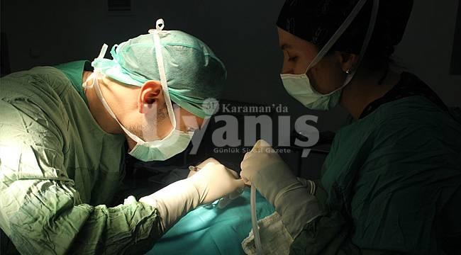 Karaman'da 681 kişinin burnuna müdahale edildi