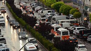 Karaman'da araç sayısı 91 bin oldu