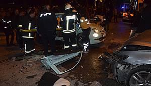 Karaman'da trafik kazası: 3 yaralı