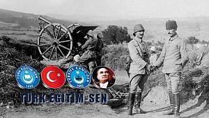 """Karaman Türk Eğitim-Sen: """"Milli destan"""""""