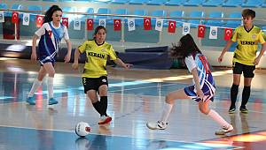 Okul Sporları Gençler Futsal Yarı Final heyecanı başladı