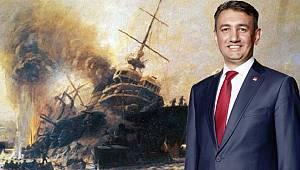 """Vekil Ünver: """"18 Mart 1915'te kazanılan Deniz Zaferi"""
