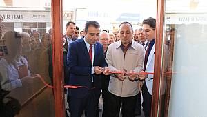 Başkan Kalaycı ilk açılışına katıldı