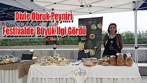 Divle Obruk Peyniri Festivalde büyük ilgi gördü