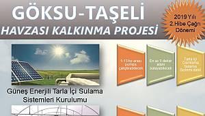 Göksu Taşeli Havzası hibe programı yayınlandı