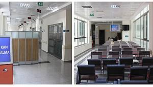 Hastanede kan alma ünitesi yenilendi