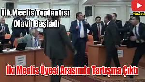 İlk meclis toplantısında tartışma çıktı