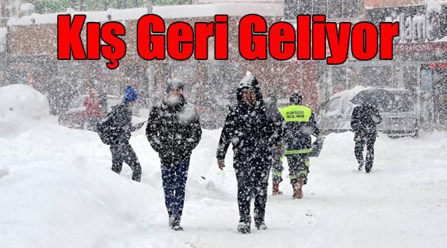 Karaman'a kış geri geliyor!