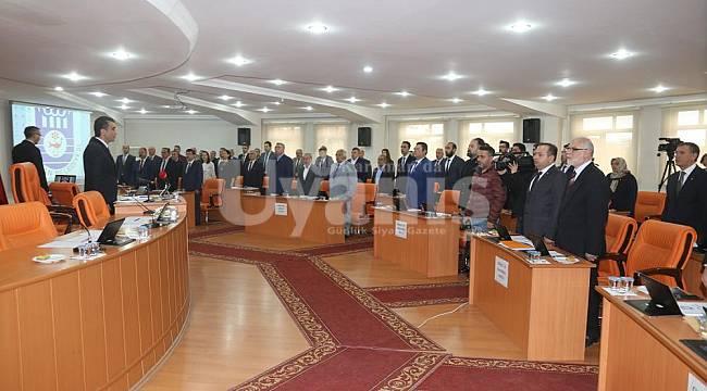 Karaman Belediyesi Meclisinde MHP-CHP İşbirliği