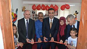 Karaman'da Şehitlerimizin Anısına Kütüphane Açıldı