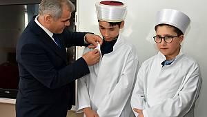 Karaman Kur'an bülbülleri cübbelerini giydi