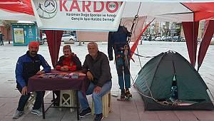 KARDOF meydanda yerini aldı
