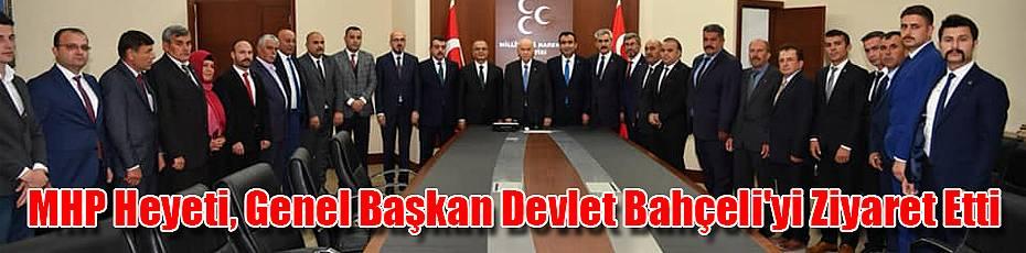 Karaman MHP Heyeti, Bahçeli'yi ziyaret etti