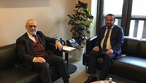 Rektör Akgül'den Başdanışman Tanrıverdi'ye Ziyaret