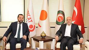 Rektör Akgül'den Hak-İş Genel Başkanına Ziyaret