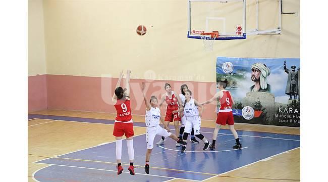 Yarı final müsabakaları Karaman'da başladı