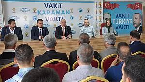AK Parti Karaman İl Teşkilatının Yeni Yönetimi Tanıtıldı