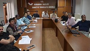 Asansör işletme ve bakımı bilgilendirme toplantısı yapıldı