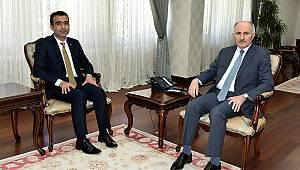 Başkan Kalaycı'dan Vali Meral'e ziyaret