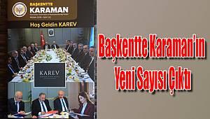 Başkentte Karaman'ın yeni sayısı çıktı