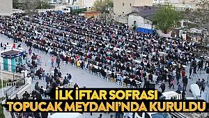 Belediyenin iftar sofrası doldu taştı
